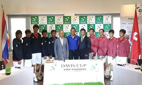 หนุ่มไทยพร้อมหวดฮ่องกง ศึกเทนนิส เดวิส คัพ