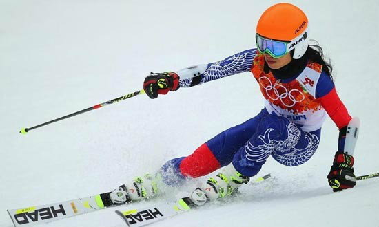 วาเนสซ่า เม ใจสู้! เข้าอันดับสุดท้ายสกีโซชิเกมส์ 2014