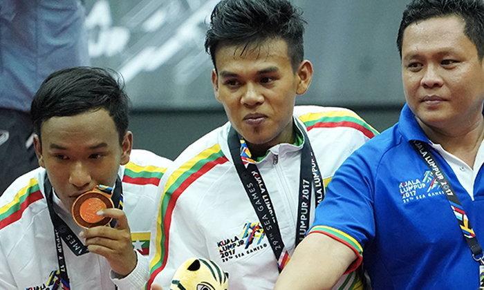 ชินลงไทย พ่าย เมียนมา ประเดิมคว้าเหรียญเงินซีเกมส์