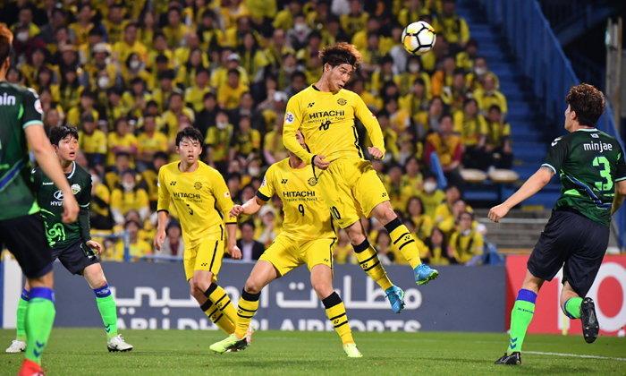 ชุนบุค ฮุนไดฯ บุกอัด คาชิวาฯ 2-0 ลิ่ว 16 ทีม AFC ชปล.