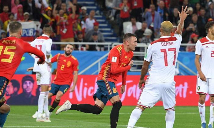 สเปน เกือบพัง ! ไล่เจ๊า โมร็อกโก ท้ายเกม 2-2 เข้าป้ายแชมป์กลุ่ม
