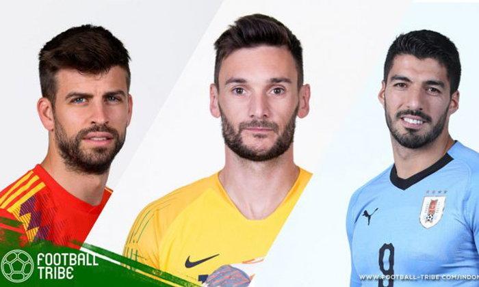 ครบแล้วจ้า : 6 แข้งฉลองติดทีมชาติครบ 100 นัดในฟุตบอลโลก 2018
