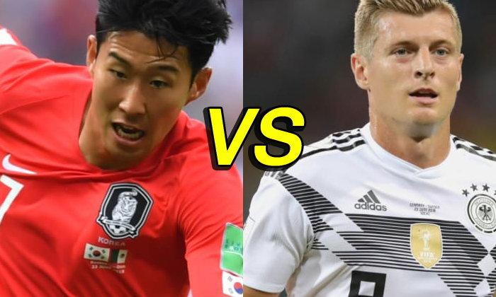 พรีวิว ฟุตบอลโลก 2018 รอบแบ่งกลุ่ม กลุ่มเอฟ : เกาหลีใต้ VS เยอรมนี