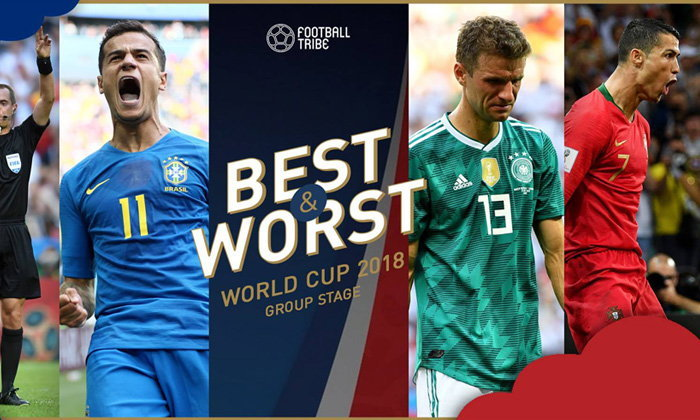 BEST & WORST: ยอดเยี่ยม-ยอดแย่ ฟุตบอลโลก 2018 รอบแบ่งกลุ่ม