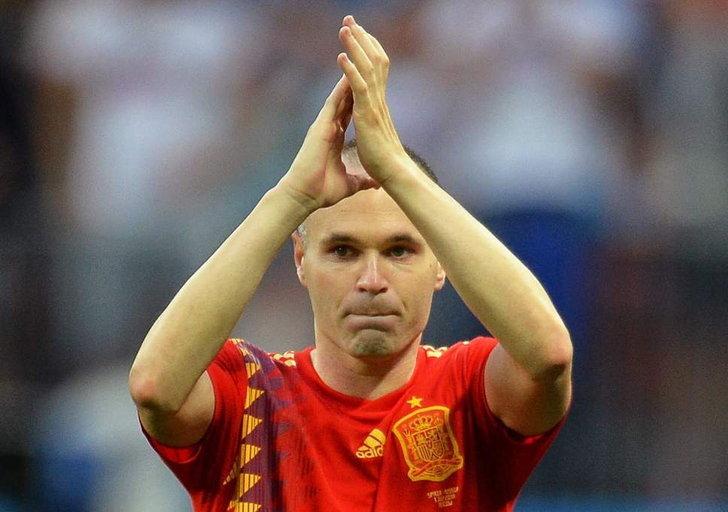 """""""อิเนียสต้า"""" ประกาศเลิกเล่นทีมชาติอย่างเป็นทางการ หลังสเปน ร่วงรอบ 16 ทีม"""