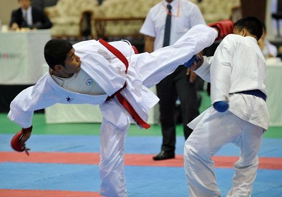 กระบี่-แจ๊คกี้ยิมซิวแชมป์น้ำสิงห์ทีมคาราเต้ปทท.