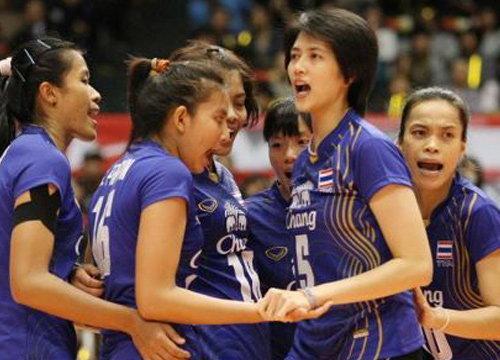 สาวไทยตบเวียดนาม3-0ประเดิมวีทีวีคัพ2014