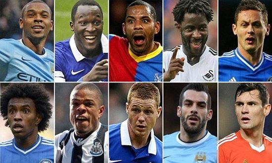 10 นักเตะสุดคุ้มพรีเมียร์ลีก อังกฤษ 2013-2014