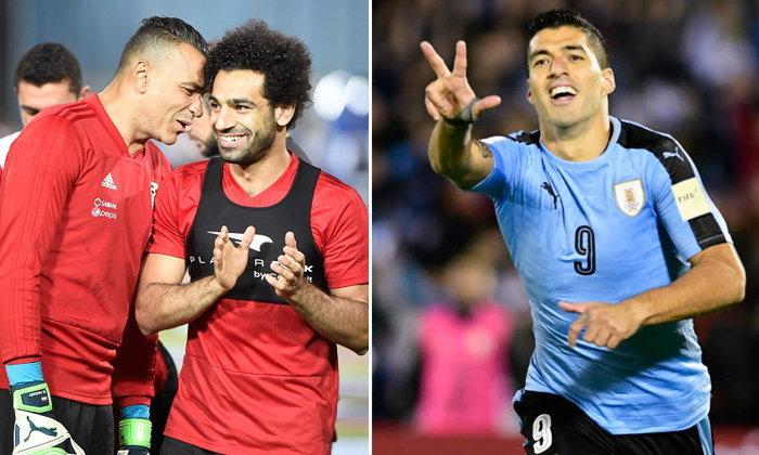 """พรีวิวฟุตบอลโลก 2018 กลุ่มเอ : """"อียิปต์ VS อุรุกวัย"""""""