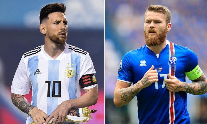 """พรีวิวฟุตบอลโลก 2018 กลุ่มดี : """"อาร์เจนติน่า VS ไอซ์แลนด์"""""""