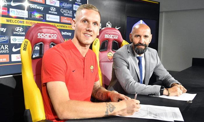 """โรม่า สอย """"จอมหนึบทีมชาติสวีเดน"""" เฝ้าเสา 5 ปีแทน """"อลิสซอน"""""""