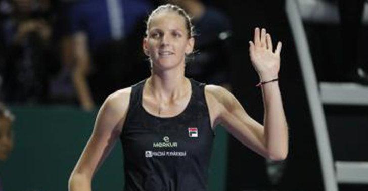 พลิสโควา ทุบ วอซเนียคกี คว้าชัยเทนนิส WTA ไฟนอลส์