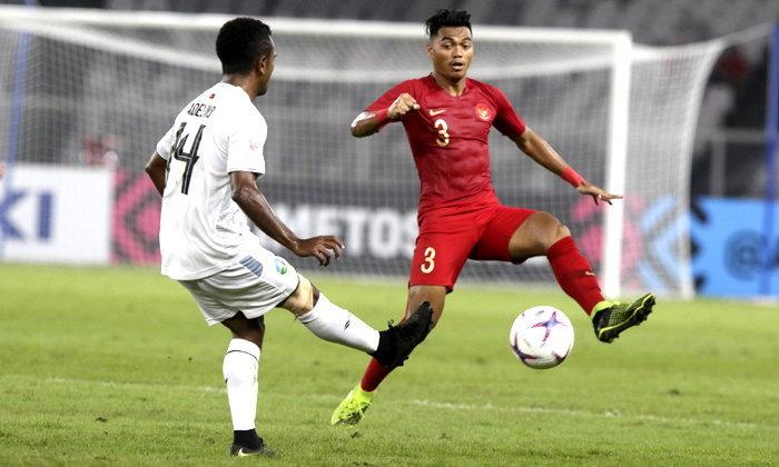 """ซูซูกิคัพ 2018: """"กามา"""" ประเดิมประตู ติมอร์ สุดสวย แต่ อินโดนีเซีย คว้าชัย 3-1 (คลิป)"""