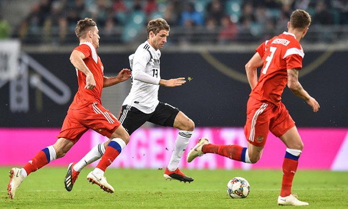 ยิงไม่ซ้ำหน้า! เยอรมันกู้หน้าตะบันรัสเซียเละ 3-0