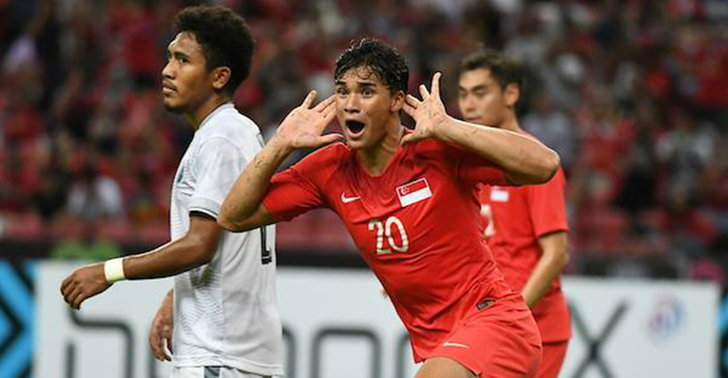 สิงคโปร์ ถล่ม ติมอร์ ยับ 6-1 ลุ้นเข้ารอบนัดสุดท้าย