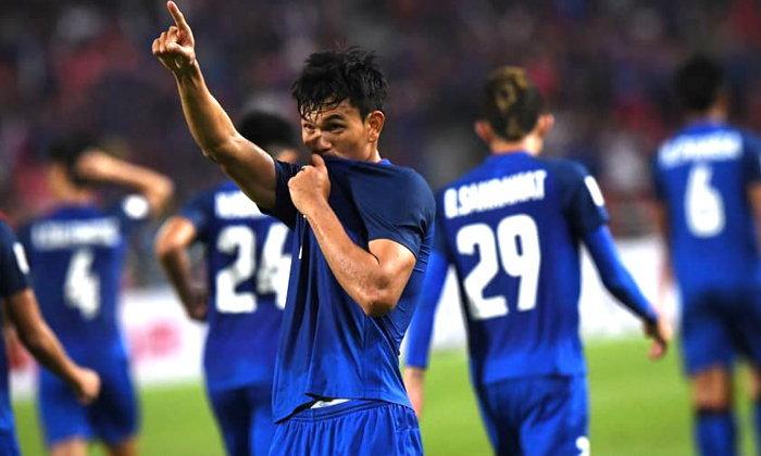 ตัดเกรด : นักเตะทีมชาติไทย หลังเปิดบ้านทุบ สิงคโปร์
