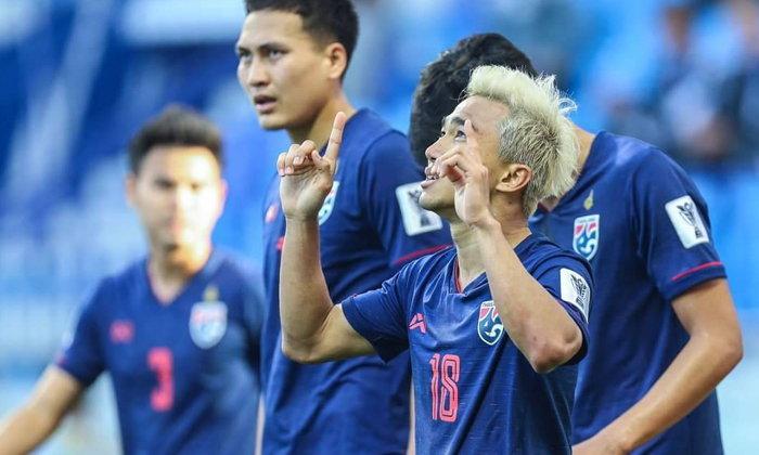 """""""ชนาธิป"""" ขอบคุณแฟนบอลที่ยังหนุนทีมชาติไทยจนคว้าชัยเหนือบาห์เรน 1-0"""