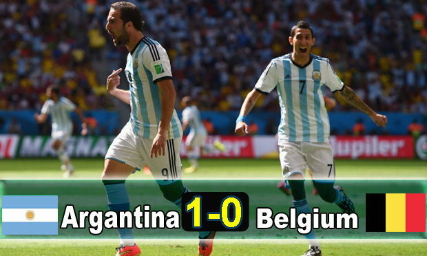 อิกวาอินซัดชัย! อาร์เจนฯเฉือนเบลเยี่ยม1-0ลิ่วรอบรอง