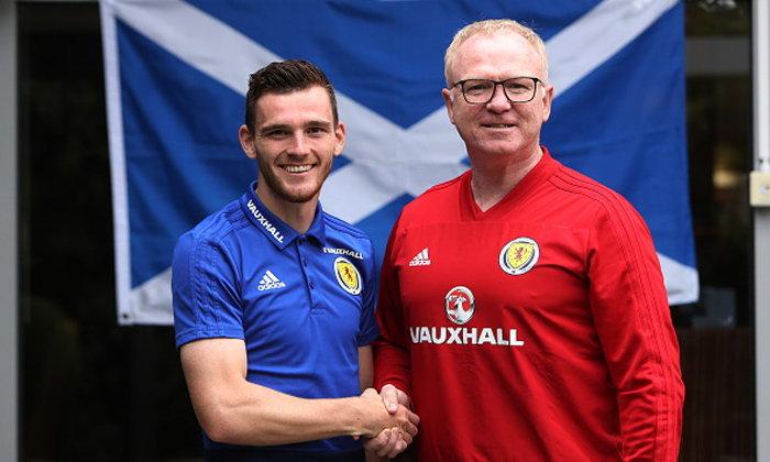 """ได้ดิบได้ดี! """"โรเบิร์ตสัน"""" ถูกแต่งตั้งเป็นกัปตันทีมชาติสก็อตแลนด์คนใหม่"""