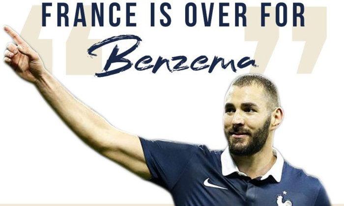 """หมดโอกาส! ฝรั่งเศสยัน """"เบนเซม่า"""" หมดหนทางคืนทัพตราไก่ตลอดไป"""