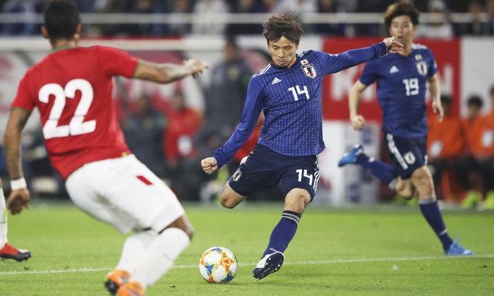 """""""นากาจิมะ"""" ซัดชัย พา ญี่ปุ่น เชือด โบลิเวีย  1-0 เกมอุ่นเครื่อง"""