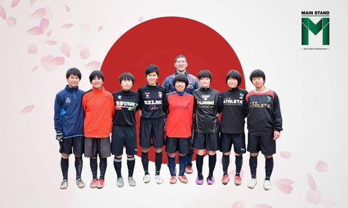 ทีมฟุตบอลหญิง ร.ร. คามิมุระ ที่คว้าแชมป์ด้วยการใช้ผู้เล่นแค่ 8 คนทั้งทัวร์นาเม้นต์