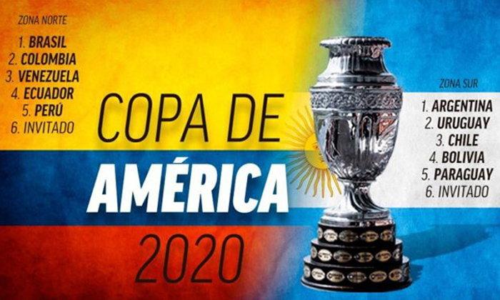 ลงตัวแล้ว! ได้ 2 ชาติเจ้าภาพจัดโคปา อเมริกา 2020 พร้อมเปลี่ยนรูปแบบแข่งขันใหม่