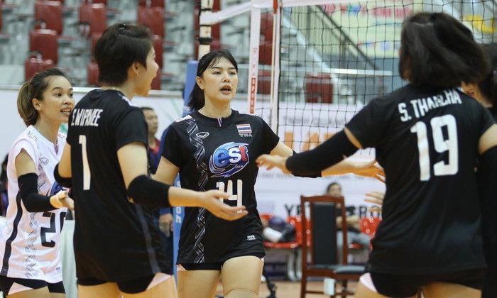 สาวไทย U23 อัด ม.หนานจิง 3-0 เซต วอลเลย์บอลวีทีวี บิญดิญคัพ