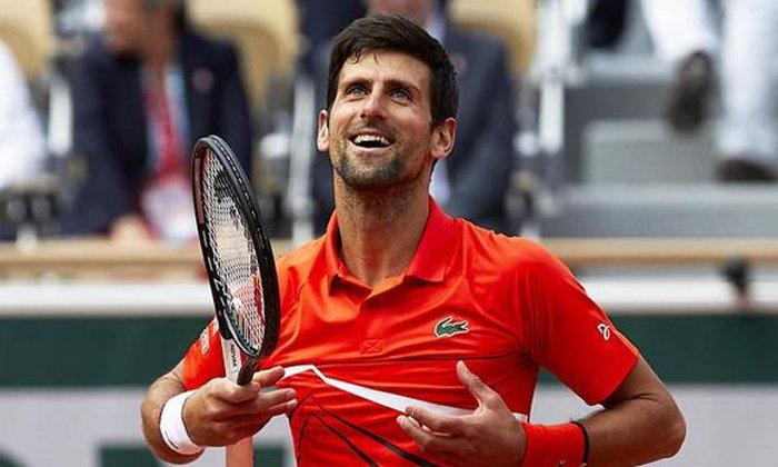 """""""โนวัค-โอซากะ"""" ควงกันลิ่วรอบ 3 เทนนิส เฟรนช์ โอเพ่น"""