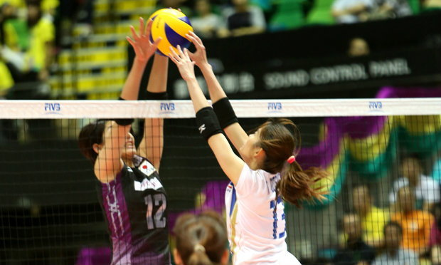 สาวไทยพ่ายญี่ปุ่น 1-3 เซต สนามหน้าตบที่ไทย 15-17 สิงหาคมนี้