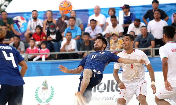 อิหร่าน พ่าย ญี่ปุ่น 3-2 ชวดป้องกันแชมป์บอลชายหาด