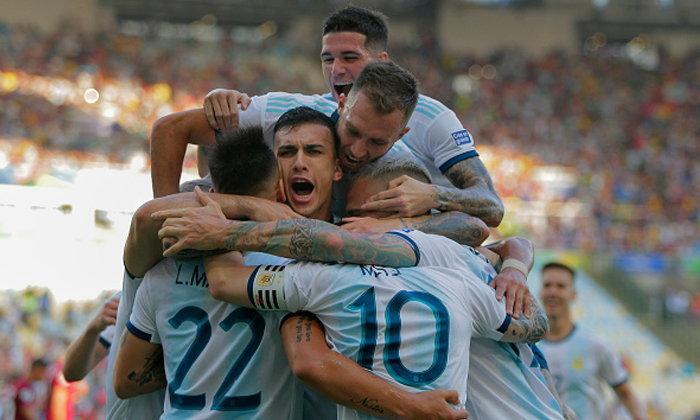มาตามนัด! อาร์เจนตินา กด เวเนซุเอลา 2-0 ลิ่วตัดเชือกชนบราซิล