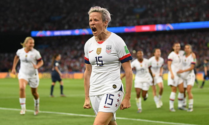 หักด่านเจ้าภาพ! สาวมะกัน เข่น ฝรั่งเศส 2-1 ฉลุยตัดเชือกฟุตบอลโลกหญิง