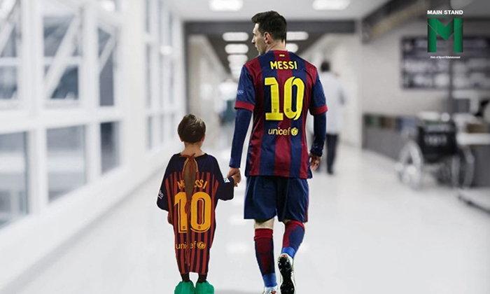เสื้อกาวน์ที่แข็งแกร่งที่สุด : ชุดคนไข้วัยเยาว์ผสมยาวิเศษจากนักฟุตบอลระดับโลก