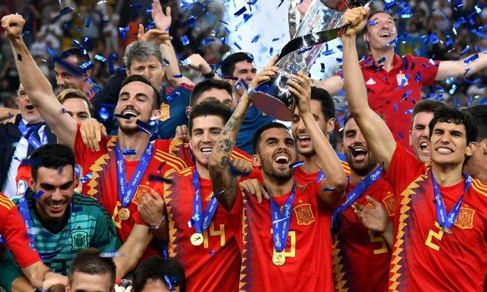เจ้ายุโรปชุดเล็ก! สเปน คว่ำ เยอรมนี 2-1 ซิวแชมป์ ยูโร ยู-21 (คลิป)