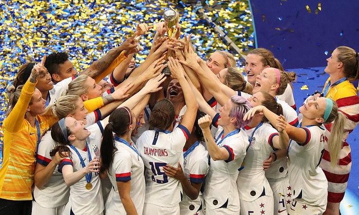 สาวมะกัน อัด สาวดัตช์ 2-0 ผงาดแชมป์โลกฟุตบอลหญิง สมัยที่ 4