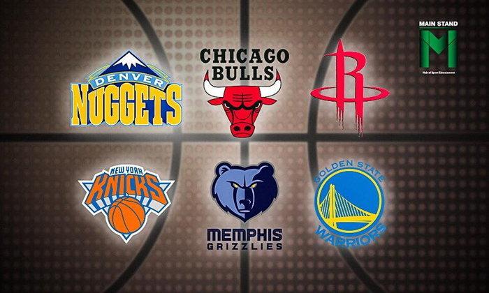 จรวด, นักเก็ต, กางเกง และ หมีกริซลี่ย์ : ประวัติศาสตร์และที่มาของชื่อทีม NBA