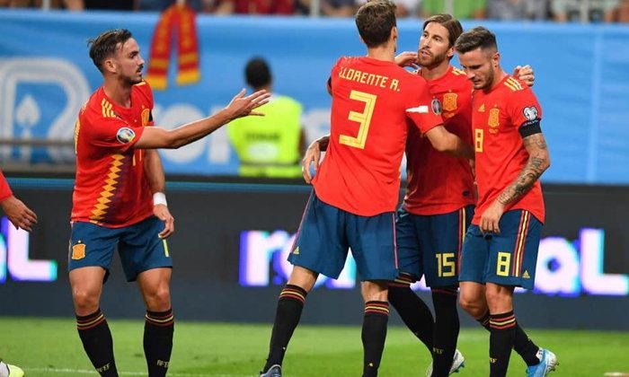 สเปน บุกเฉือน โรมาเนีย 2-1 ซิวชัย 5 นัดรวด คัดยูโร