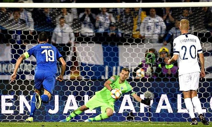 อิตาลี บุกเฉือน ฟินแลนด์ 2-1 นำฝูงคัดยูโร สาย เจ