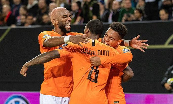 ฮอลแลนด์ ฮอตต่อเนื่อง ถล่ม เอสโตเนีย 4-0 คัดยูโร กลุ่มซี