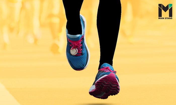 รองเท้าเบาช่วยให้วิ่งได้เร็วขึ้นจริงหรือ?