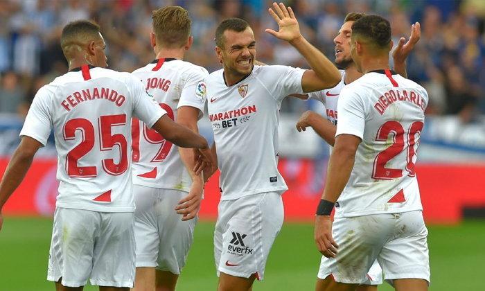 เซบีย่า บุกเฉือน อลาเบส 1-0 ยึดจ่าฝูงลาลีกา สเปน