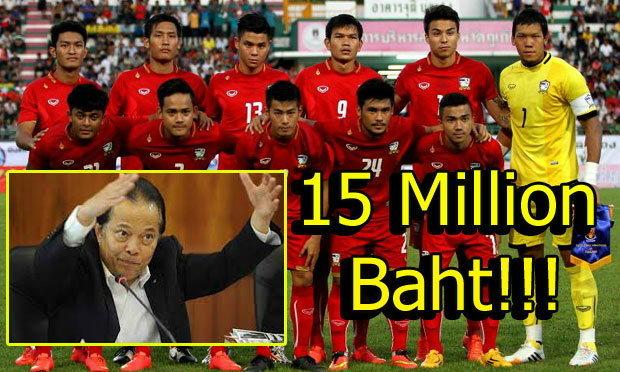 ′บังยี′ อัดฉีดเหรียญทองบอล 15 ล้านบาท - ′โค้ชหนึ่ง′ กำชับแข้งสาวมีสมาธิเกมฟัด ′เกาหลีใต้′