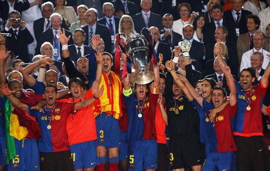 บาร์ซ่ายอดทีมถลุงผีหงอย2-0เถลิงแชมป์เจ้ายุโรป