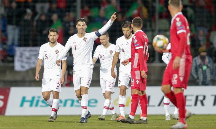 โปรตุเกส เชือดนิ่ม ลักเซมเบิร์ก 2-0 คว้าตั๋วลุยยูโร 2020