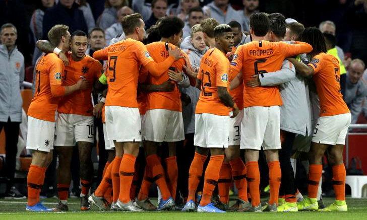 เนเธอร์แลนด์ อัดเอสโตเนีย 5-0 ซิวรองเเชมป์กลุ่มคัดยูโร