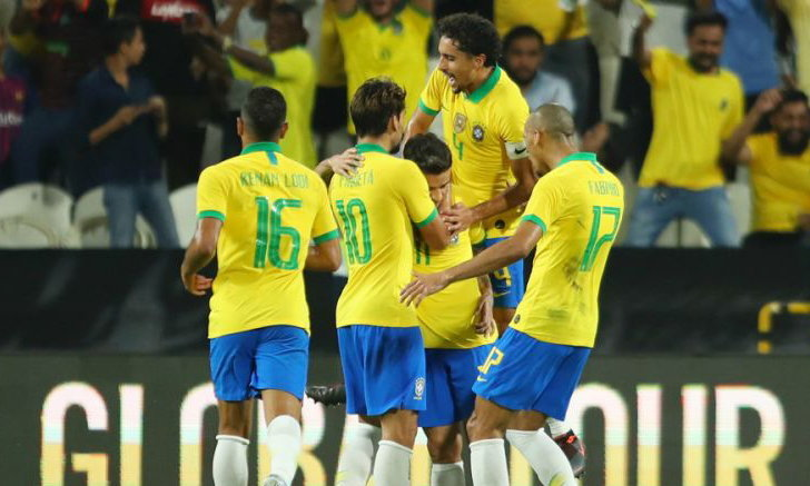 คูตินโญ่ กดฟรีคิกสุดงาม บราซิล ถล่ม เกาหลีใต้ 3-0 เกมอุ่นเครื่อง