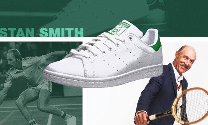 สแตน สมิธ : นักเทนนิส ที่ผู้คนจดจำในนามรองเท้าขาวสุดเท่