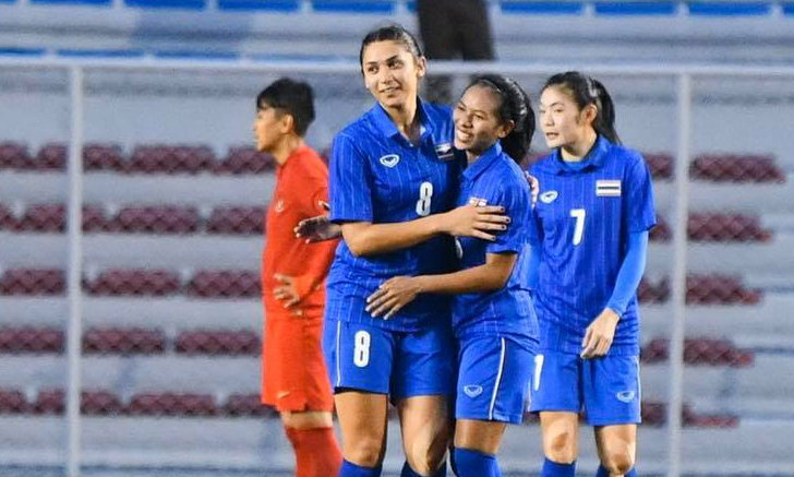 จบอันดับ 2! ชบาแก้ว รัวถล่ม อินโดนีเซีย 5-1 ทะลุรอบรองฯ ซีเกมส์