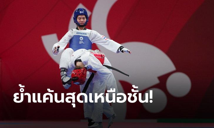 """แชมป์ที่ 6 ของปี!  """"พาณิภัค"""" ย้ำแค้นเจ้าของเหรียญทองโอลิมปิก ผงาดแชมป์เวิลด์แกรนด์แสลม (คลิป)"""
